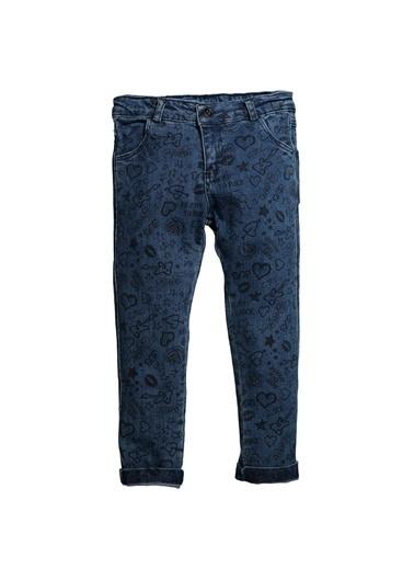 Zeyland Baskılı Basic Kot Pantolon (5-12yaş) Baskılı Basic Kot Pantolon (5-12yaş) Mercan